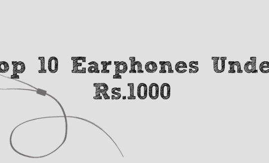 Top 10 Earphones Under ₹1000